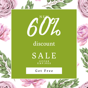 Image design template for sales - #banner #businnes #sales #CallToAction #salesbanner #pink #petal #rose #shapes #centifolia #plant #multimedia #squares #boxes #garden