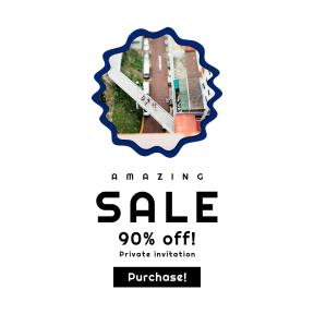 Image design template for sales - #banner #businnes #sales #CallToAction #salesbanner #internet #aerial #sign #frame #rough #modern #street #symbol #squares