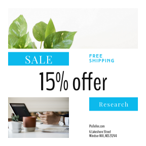 Image design template for sales - #banner #businnes #sales #CallToAction #salesbanner #above #simplistic #table #online #espresso #connection #keyboard #computer #communication #plant