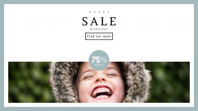 FullHD image template for sales - #banner #businnes #sales #CallToAction #salesbanner #teeth #emotion #laughing #familly #forest