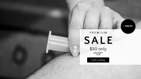 FullHD image template for sales - #banner #businnes #sales #CallToAction #salesbanner #doctor #blood #nurse #hand #needle #syringe #medic #hospital