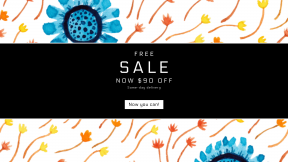 FullHD image template for sales - #banner #businnes #sales #CallToAction #salesbanner #area #plant #line #flowering #floral #circle #flora #petal #pattern #flower