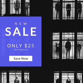 Image design template for sales - #banner #businnes #sales #CallToAction #salesbanner #and #display #window #shop #black #urban