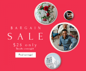 Square large web banner template for sales - #banner #businnes #sales #CallToAction #salesbanner #dress #window #american #modern #card #bouquet #happiness