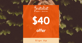 Card design template for sales - #banner #businnes #sales #CallToAction #salesbanner #nature #bush #outdoors #green #city #urban #hair #pose #woman #denim