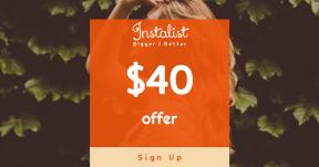 Card design template for sales - #banner #businnes #sales #CallToAction #salesbanner #nature #bush #outdoors #green #city #urban #hair #pose #woman #denim