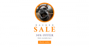 Card design template for sales - #banner #businnes #sales #CallToAction #salesbanner #kiss #outdoor #happiness #donkey #black #animal #nose