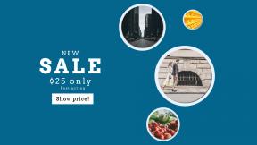 FullHD image template for sales - #banner #businnes #sales #CallToAction #salesbanner #produce #street #bright #urban #stall #carrots #depth