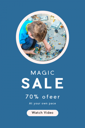 Portrait design template for sales - #banner #businnes #sales #CallToAction #salesbanner #shape #recycle #kid #shapes #geometrical #circle #technic #circular #community #technology