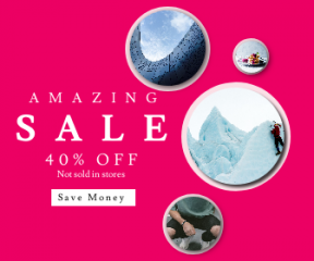 Square large web banner template for sales - #banner #businnes #sales #CallToAction #salesbanner #vacation #climbing #ice #steel #extreme #jeans #shopping #gear #cloud