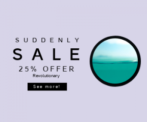 Square large web banner template for sales - #banner #businnes #sales #CallToAction #salesbanner #blue #turquoise #ocean #bokeh #minimal #green #nature #tranquil #beach #underwater
