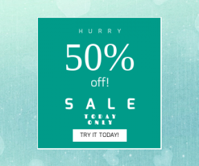 Square large web banner template for sales - #banner #businnes #sales #CallToAction #salesbanner #blue #light #aqua #azure #green #sky #water #texture #turquoise #white