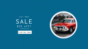 FullHD image template for sales - #banner #businnes #sales #CallToAction #salesbanner #engineering #car #vintage #young #polished