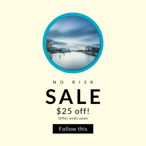 Image design template for sales - #banner #businnes #sales #CallToAction #salesbanner #cloud #boat #button #circular #sea #river
