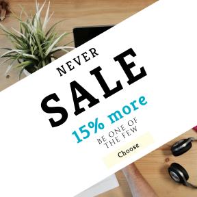 Image design template for sales - #banner #businnes #sales #CallToAction #salesbanner #down #flat #book #entrepreneur #headphone