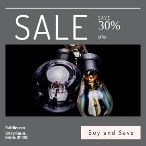 Image design template for sales - #banner #businnes #sales #CallToAction #salesbanner #illumination #power #light #lightbulb #energy #dark #reflection