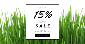 Card design template for sales - #banner #businnes #sales #CallToAction #salesbanner #grass #family #commodity #plant #field #chrysopogon #zizanioides #wheatgrass #sweet