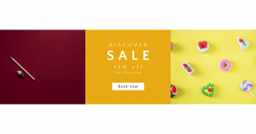 Card design template for sales - #banner #businnes #sales #CallToAction #salesbanner #office #toy #pencil #bright #polymer #white #cute #education #shadow #snack