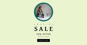 Card design template for sales - #banner #businnes #sales #CallToAction #salesbanner #chromebooks #female #bed #laptop #google #working #businesswoman