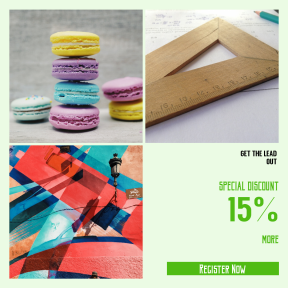 Image design template for sales - #banner #businnes #sales #CallToAction #salesbanner #filled #macaroon #measument #desktop #colour #paper #math