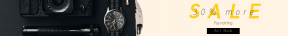 Leaderboard web banner template for sales - #banner #businnes #sales #CallToAction #salesbanner #card #swiss #black #fuji #lite