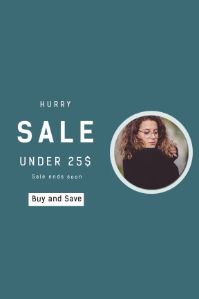 Portrait design template for sales - #banner #businnes #sales #CallToAction #salesbanner #beauty #color #lightroom #sigma #brunette #glass #sweater #tree