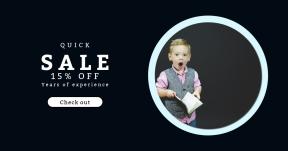 Card design template for sales - #banner #businnes #sales #CallToAction #salesbanner #infant #reading #caucasian #childhood #teacher #love #black #waistcoat #circular #kid