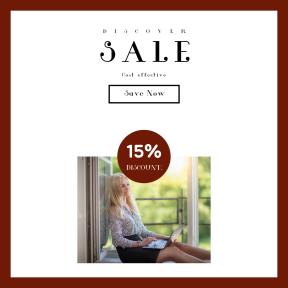 Image design template for sales - #banner #businnes #sales #CallToAction #salesbanner #work #open #green #eye #summertime #balcony #window #female #business