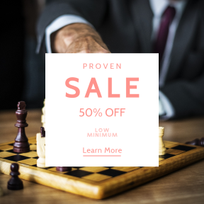Image design template for sales - #banner #businnes #sales #CallToAction #salesbanner #tactic #businessman #chessboard #management #piece