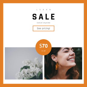 Image design template for sales - #banner #businnes #sales #CallToAction #salesbanner #against #laughter #plant #skin #white