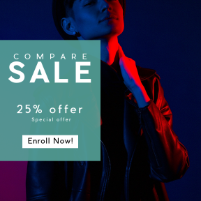 Image design template for sales - #banner #businnes #sales #CallToAction #salesbanner #color #serious #leather #fashion #tone #portrait #light #style #face