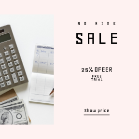 Image design template for sales - #banner #businnes #sales #CallToAction #salesbanner #lay #cash #expense #franklin #accounting