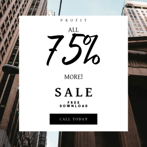 Image design template for sales - #banner #businnes #sales #CallToAction #salesbanner #building #wall #architecture #outdoors #urban #skyscraper