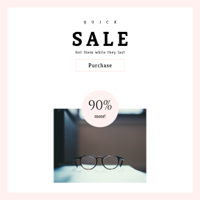 Image design template for sales - #banner #businnes #sales #CallToAction #salesbanner #of #depth #optical #optic #glasses #read #see #spec #len