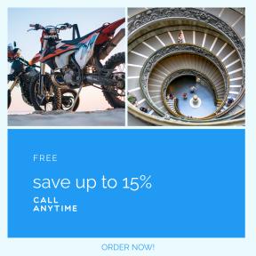 Image design template for sales - #banner #businnes #sales #CallToAction #salesbanner #stone #summer #dirt #circle #stairway #spiral #detail