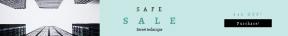 Leaderboard web banner template for sales - #banner #businnes #sales #CallToAction #salesbanner #office #and #skyscraper #window #multimedia #upshot #architecture #scyscraper #button #building