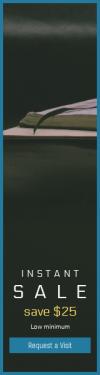 Skyscraper wide web banner template for sales - #banner #businnes #sales #CallToAction #salesbanner