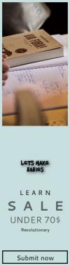 Skyscraper wide web banner template for sales - #banner #businnes #sales #CallToAction #salesbanner #hand #learn #writing #llibre #librerium