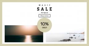 Card design template for sales - #banner #businnes #sales #CallToAction #salesbanner #water #ocean #reflection #rock #beach #sea #surreal