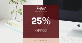 Card design template for sales - #banner #businnes #sales #CallToAction #salesbanner #entrepreneur #working #creative #photo #studio #desktop #writing