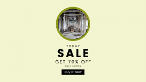 FullHD image template for sales - #banner #businnes #sales #CallToAction #salesbanner #abandoned #warehouse #factory #old #symmetrical #disused #explore