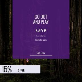 Image design template for sales - #banner #businnes #sales #CallToAction #salesbanner #travel #geometric #outside #femail #dark #sun