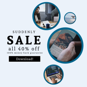 Image design template for sales - #banner #businnes #sales #CallToAction #salesbanner #flight #teamwork #space #apple #hand #smartphone #presentation