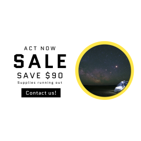 Image design template for sales - #banner #businnes #sales #CallToAction #salesbanner #darkness #space #pitch #midnight #astronomical #desert #computer #stargaze #star