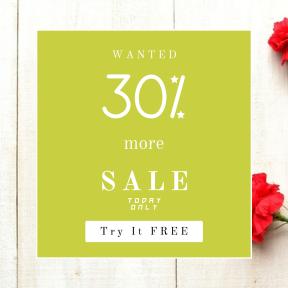 Image design template for sales - #banner #businnes #sales #CallToAction #salesbanner #love #bouquet #arranging #squares #floristry #heart #essentials #petal #shapes