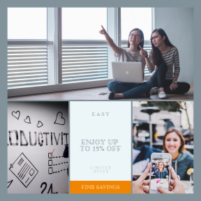 Image design template for sales - #banner #businnes #sales #CallToAction #salesbanner #happy #iphone #caucasian #photo #future #collaboration #crowd #cellphone #woman #person