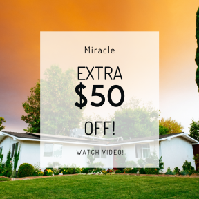 Image design template for sales - #banner #businnes #sales #CallToAction #salesbanner #white #shrub #estate #sunset #exterior #real #tree #grass #sky