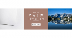 Card design template for sales - #banner #businnes #sales #CallToAction #salesbanner #hotel #lake #technology #product #blue #laptop #mountain #electronic #lodge