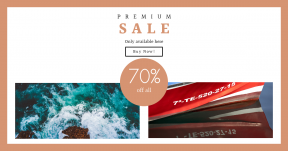 Card design template for sales - #banner #businnes #sales #CallToAction #salesbanner #turquoise #drone #sea #cliff #view #island #code #ocean