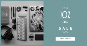 Card design template for sales - #banner #businnes #sales #CallToAction #salesbanner #technology #book #digital #white #object #gear #plus #and #music #setup